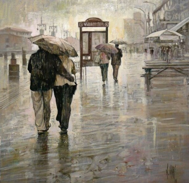 Юрий Визбор. Какие слова у дождя?