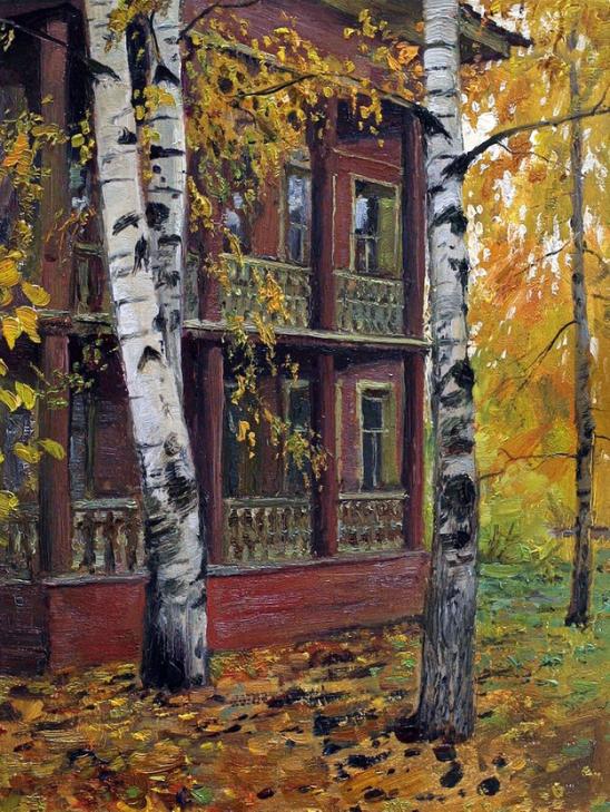Новелла Матвеева. Осень. Тишина в поселке дачном