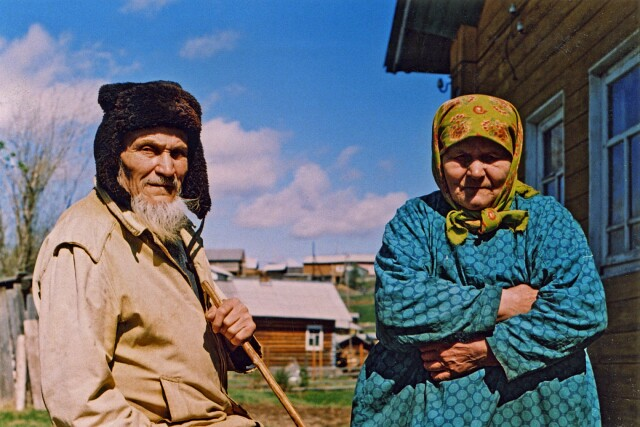 Кузьмич и Ильинична. Из сети