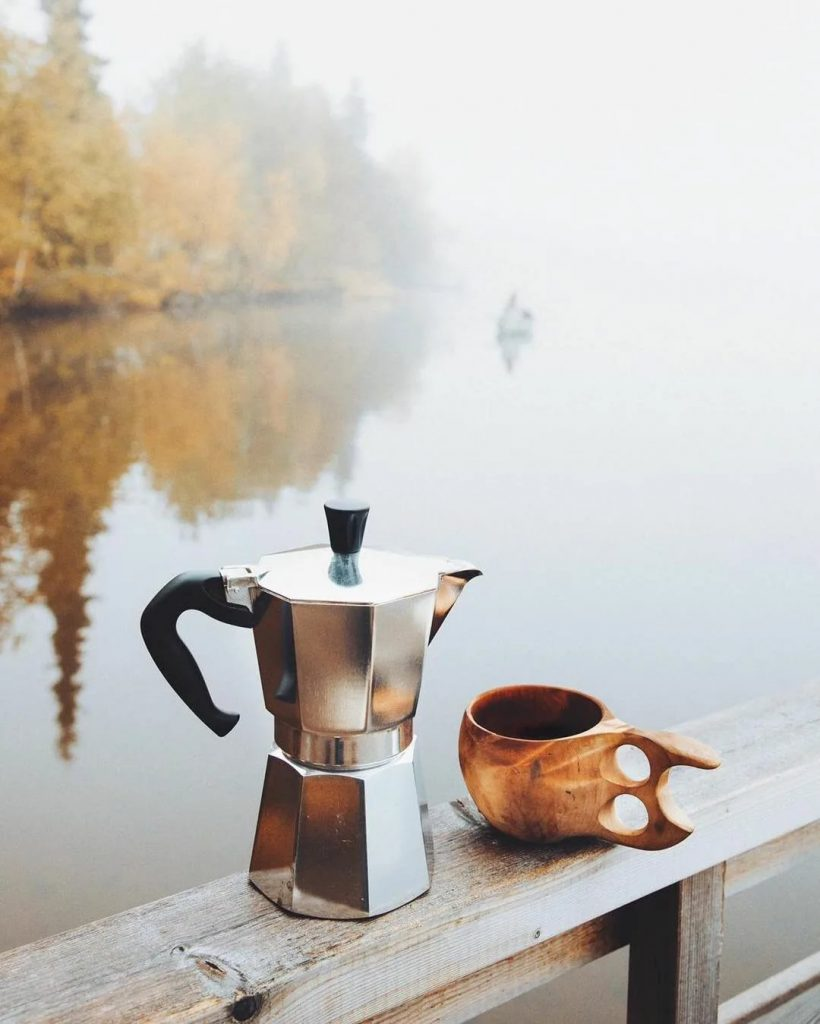 Верность и кофе...