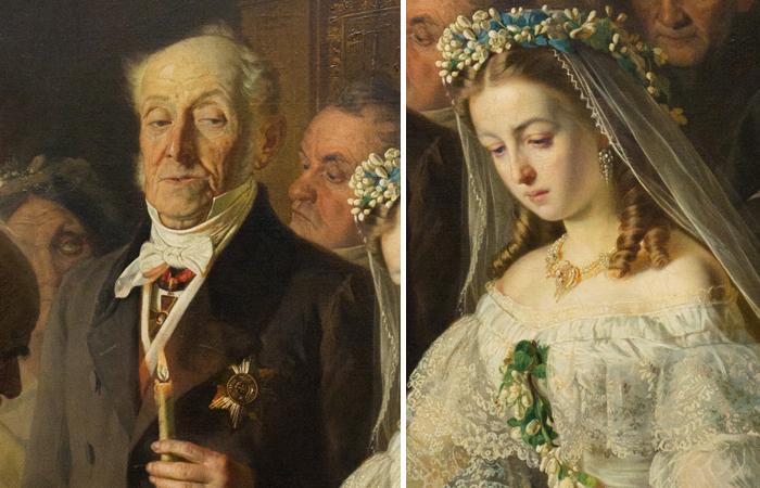 Картина «Неравный брак» Василия Пукирева : как сложилась судьба юной невесты