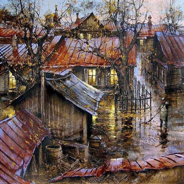 Николай Рубцов.  Улетели листья