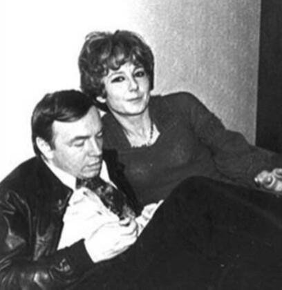 Андрей Вознесенский и Татьяна Лаврова