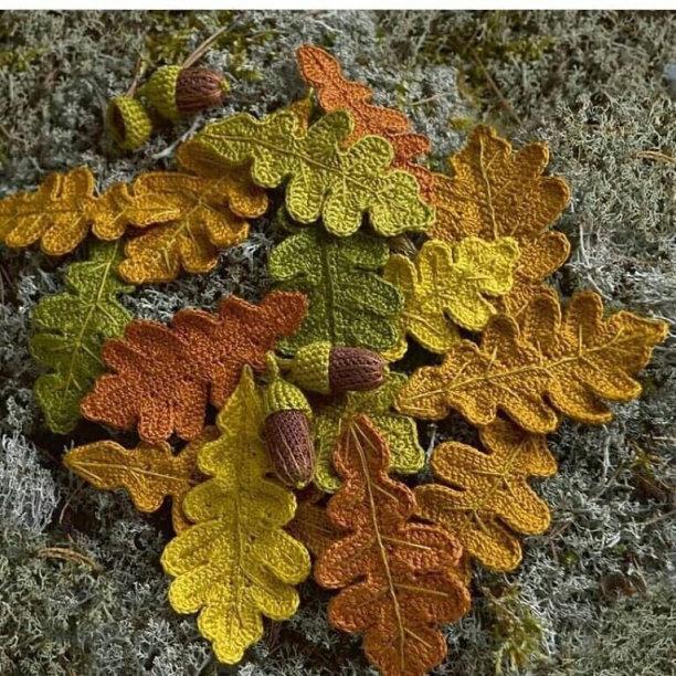 Вязаная осень. Идеи для творчества
