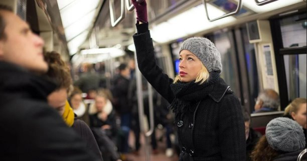 Случай в вагоне  метро. Автор: Ольга Савельева