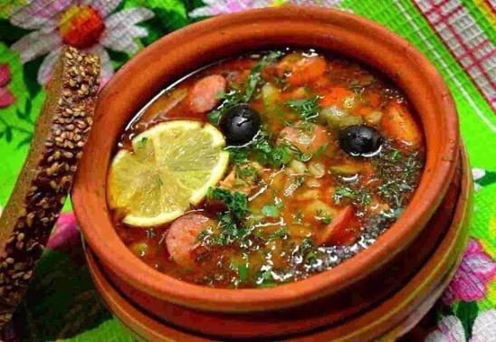 Рецепты вкусных солянок