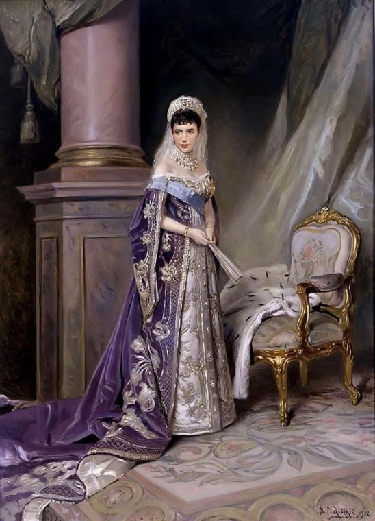 Российская императрица, супруга Александра III, Мария Федоровна Романова