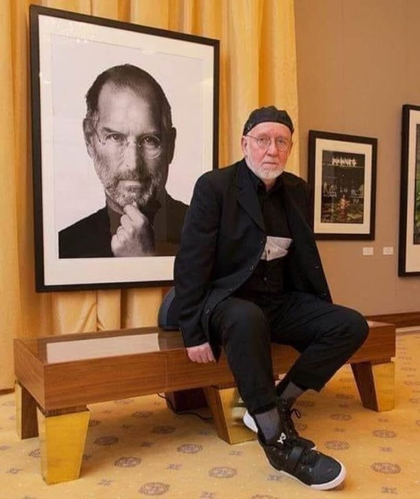 Об истории создания портрета Стива Джобса фотохудожником Альбертом Уотсоном