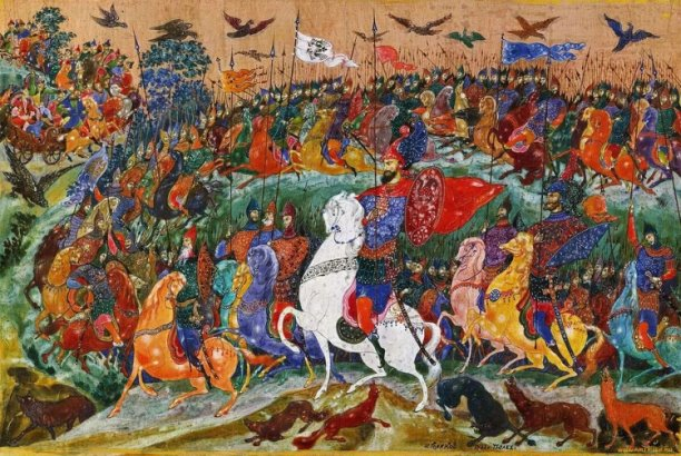 «Слово о полку Игореве» – самый известный литературный памятник домонгольской Руси