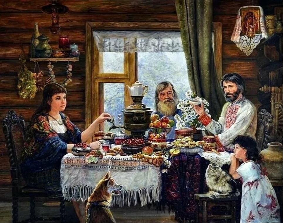 Матвей и Дуняша. Автор: Елена Шаломонова