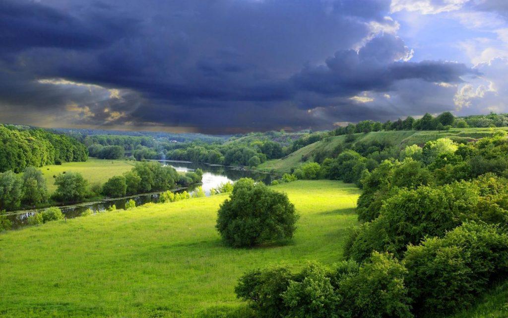 Когда ты молча созерцаешь красоту, твоё сердце разговаривает с Богом...